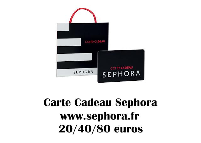 La carte cadeaux Sephora | makeupwonderland29