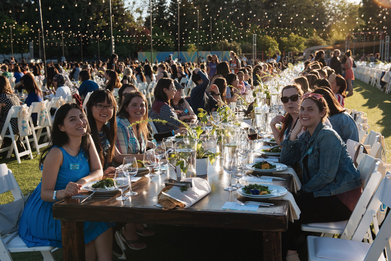 Women Techmakers Dinner, photo credit: Google Official Blog