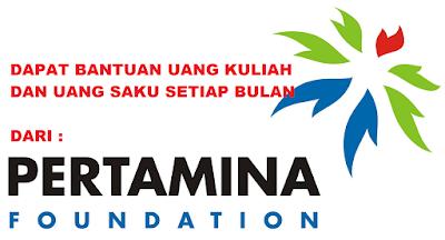 Beasiswa Bantuan Uang Kuliah Dari Pertamina