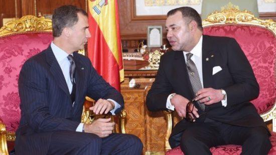 الملك يعزي إسبانيا بعد الاعتداء الإرهابي الذي ضرب برشلونة