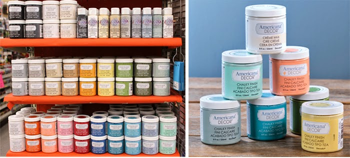 We have a great selection of Americana Decor Chalky Finish Paints