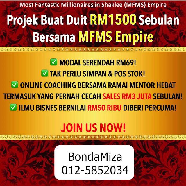 PROJEK BUAT DUIT RM1500 SEBULAN