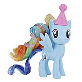 MLP Birthday Surprise Party Pack Rainbow Dash Brushable Pony