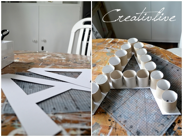 diy deko buchstabe creativlive. Black Bedroom Furniture Sets. Home Design Ideas