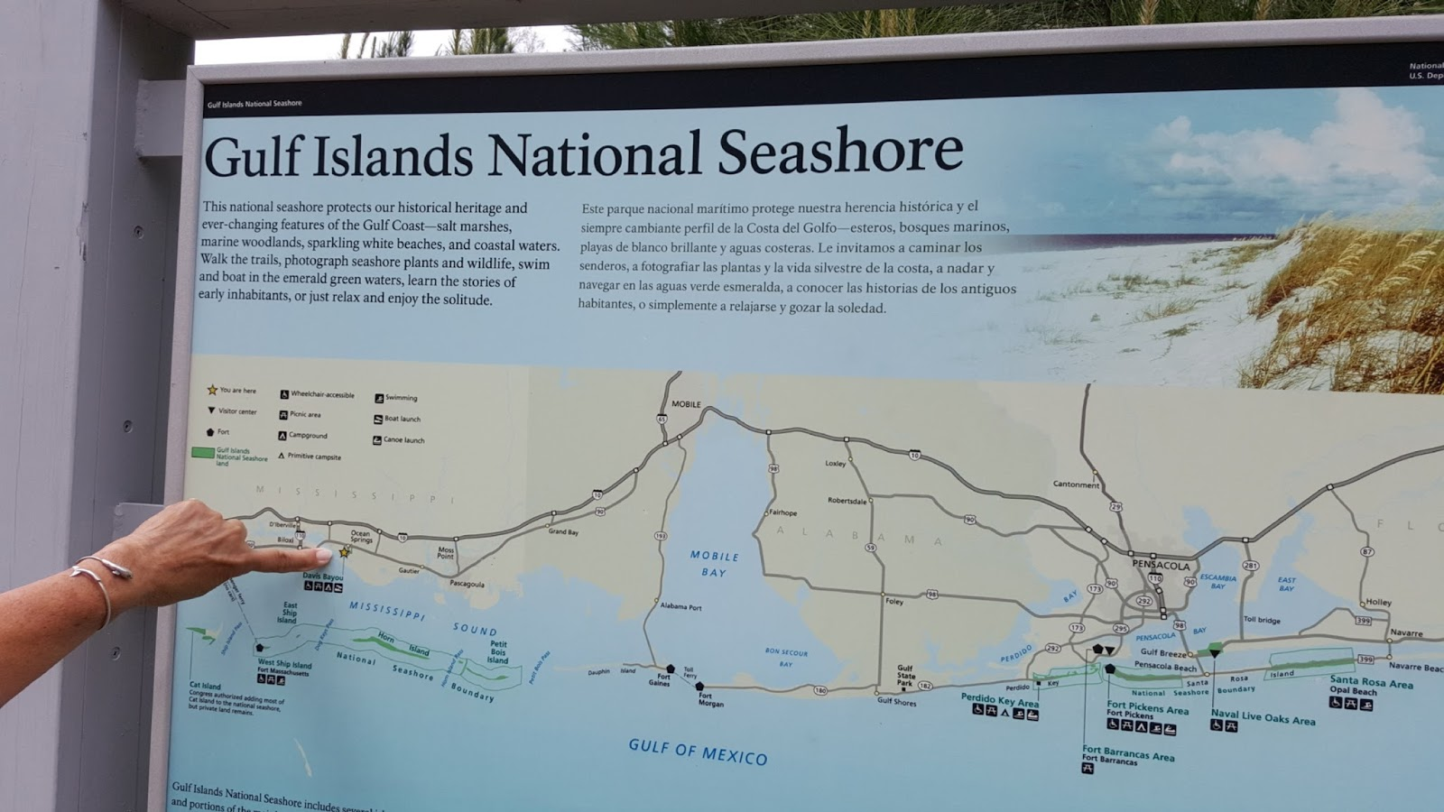 Seaside Florida Map.J And B And Lady Blue Gulf Islands National Seashore Mississippi