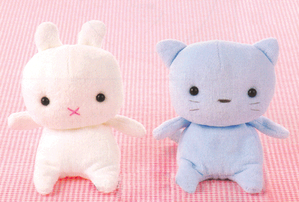 Quirky Artist Loft Bitty Baby Bunny Amp Kitty Free Pattern