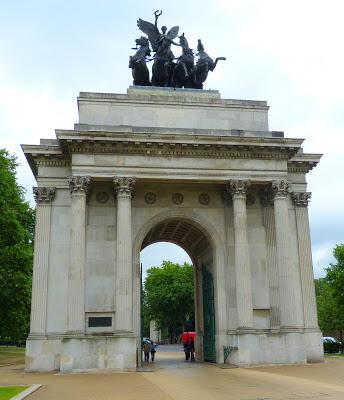 Wellington Arch, Hyde Park Corner, London