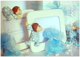 bomboniere battesimo azzurre