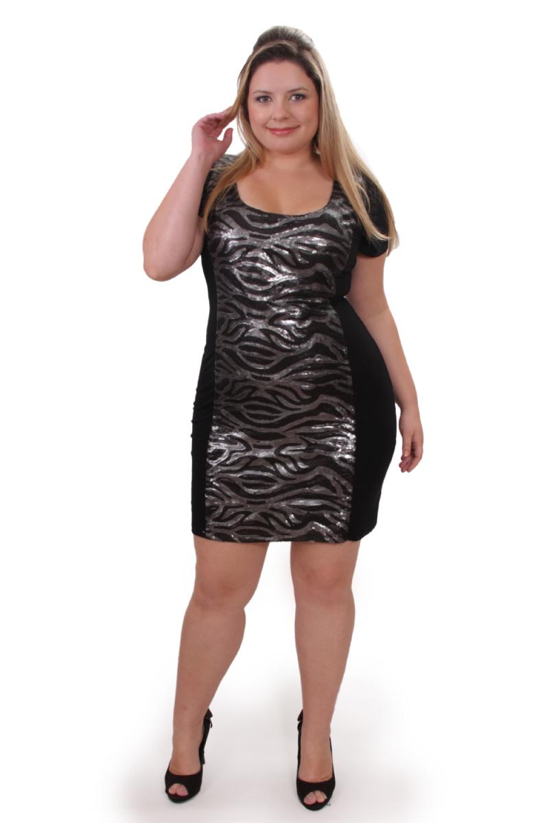 17f1207b8 Outros exemplos de vestidos com brilhos e paetês para arrasar!!!! Bjos.  Priscilla Bariani Pires. Marcadores:plus size ...