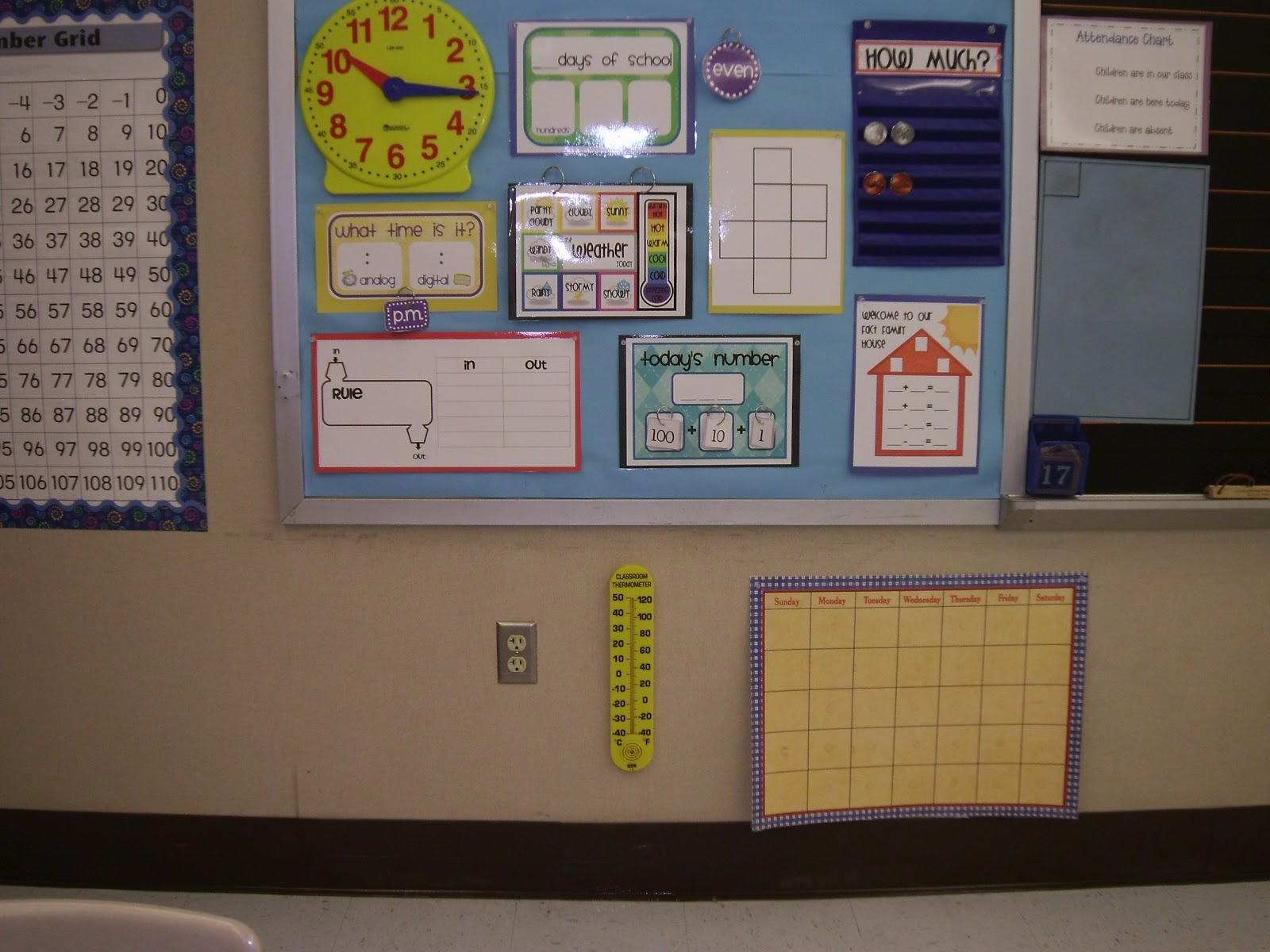 Primary Inspired Calendar Math Using Your Students