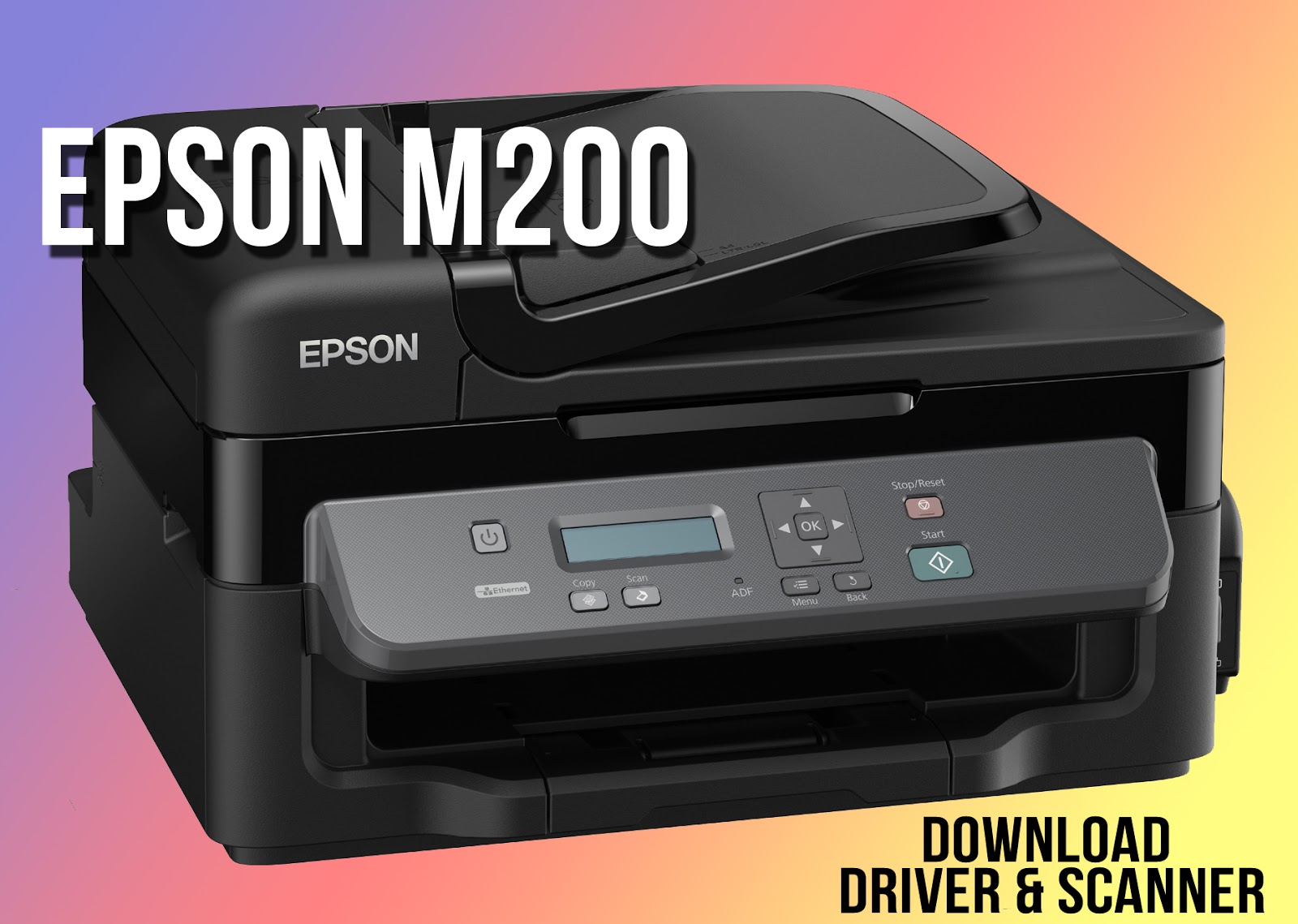 Epson M200 Printer Driver Download Windows 7