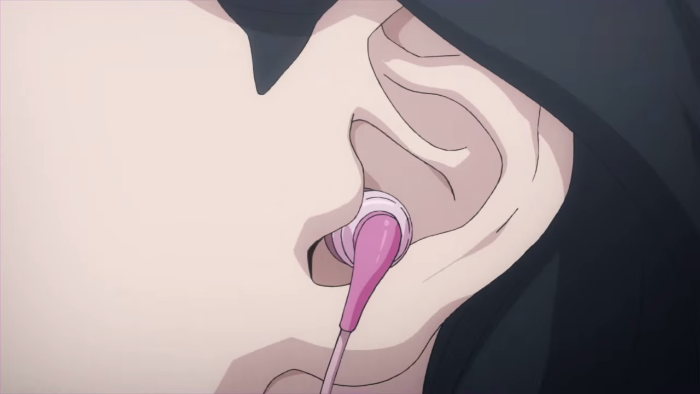 Shin Megami Tensei X Fire Emblem crossover earbud insertion fetish