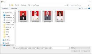 Cara Menambahkan Foto Peserta Ujian di Aplikasi UNBK