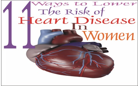 How to lower the risk of heart disease in women