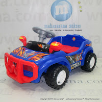 SHP BBC605 Boom Boom Car Ride-On Car