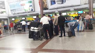 Resultado de imagen para equipajes en aeropuerto las americas