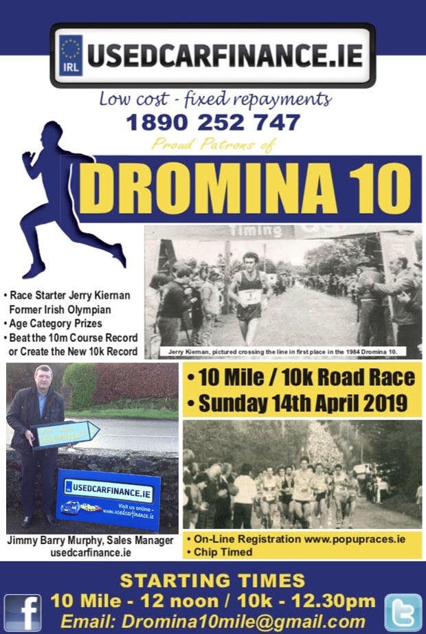 https://corkrunning.blogspot.com/2019/02/notice-dromina-10-mile-10k-road-race.html