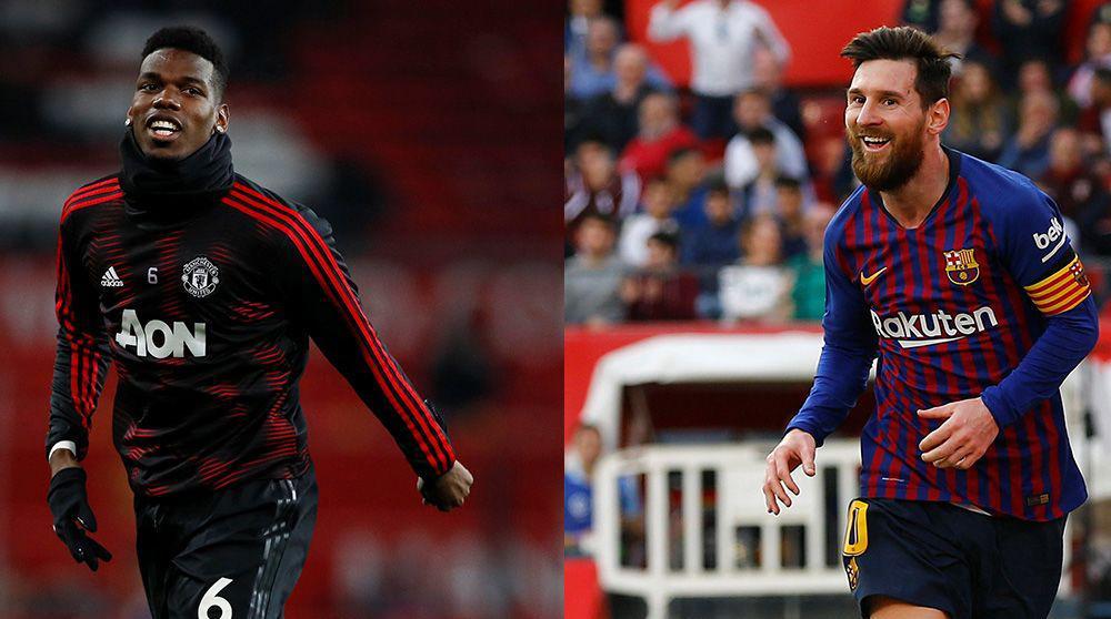 مقابلة بين برشلونة وفريق مان يونايتد ضمن دوري الابطال الاياب