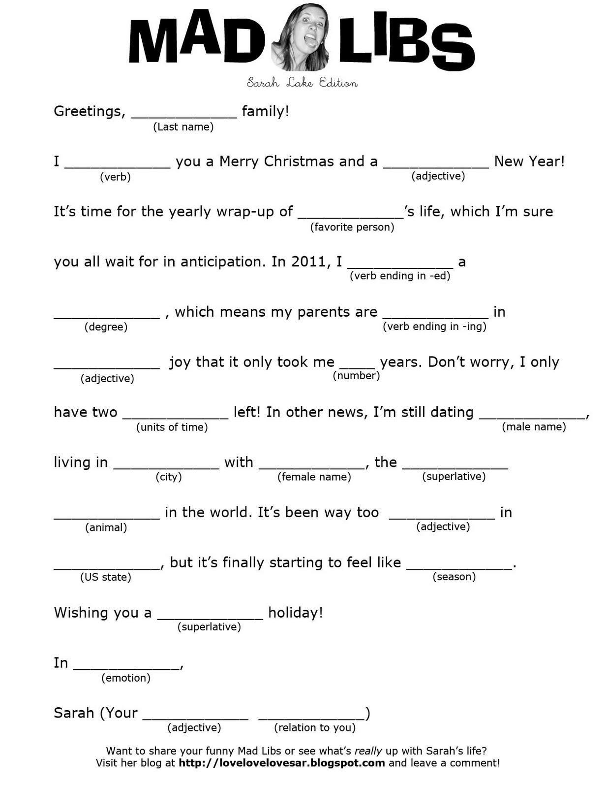 Images About Add Mad Libs