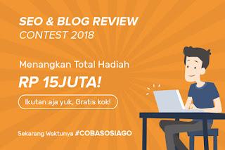 Sosiago Blog Contest