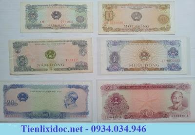 Bộ Tiền Xưa Việt Nam 1976