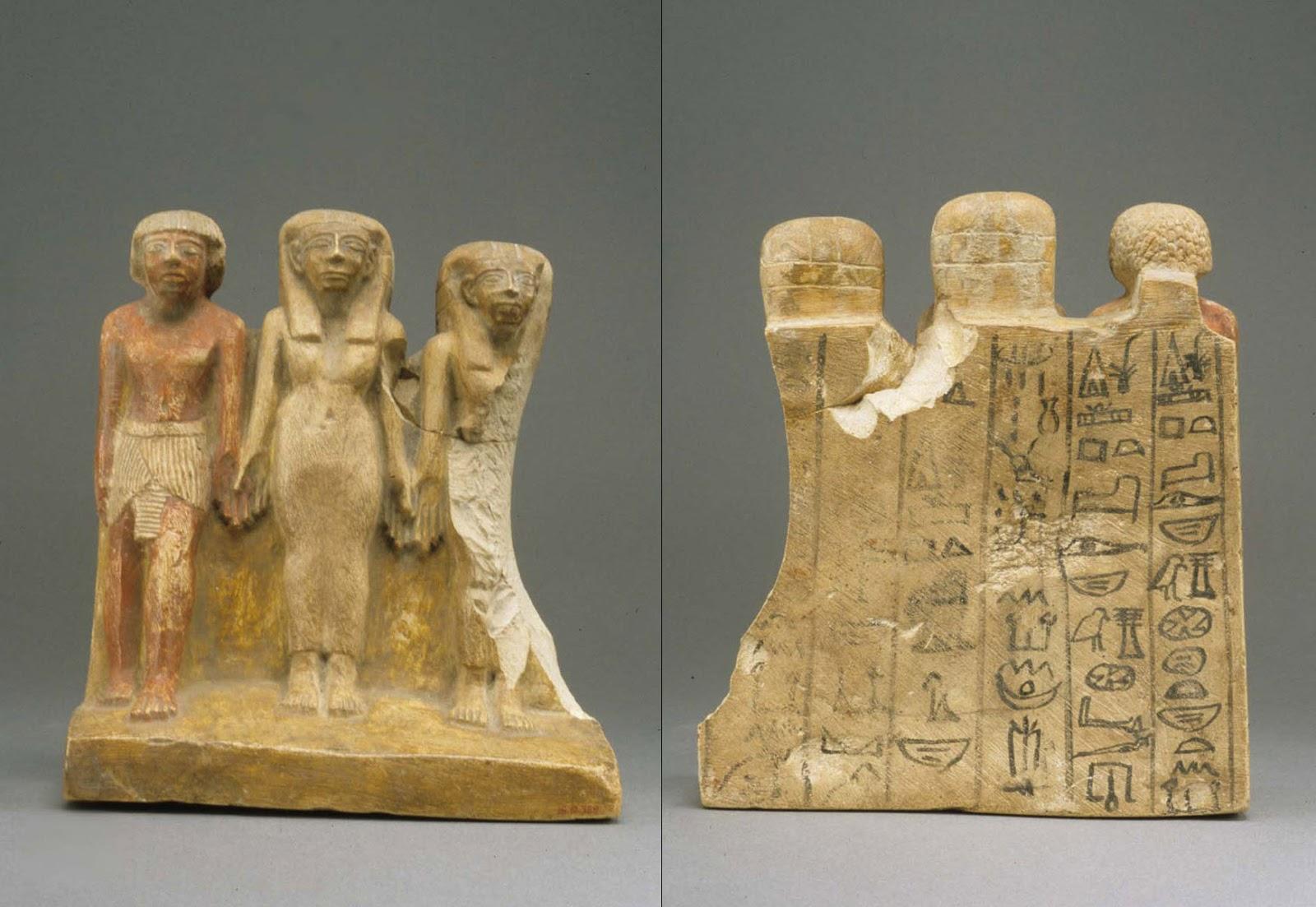 Famous pharaohs: triad: early new kingdom