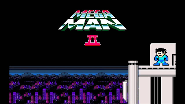 Pantalla de título de Megaman 2