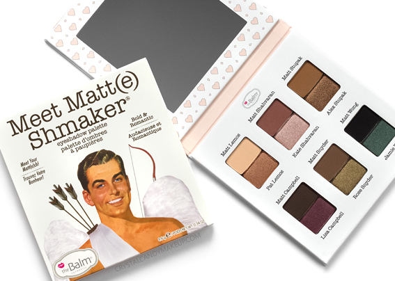 TheBalm Meet Matt(e) Shmaker Eyeshadow Palette Review Photos Swatches