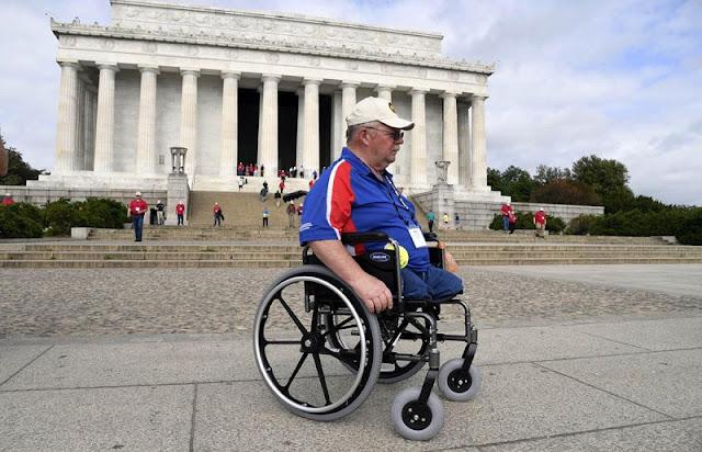 Ruas para deficientes físicos em Washington