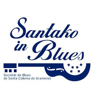 Santako in Blue