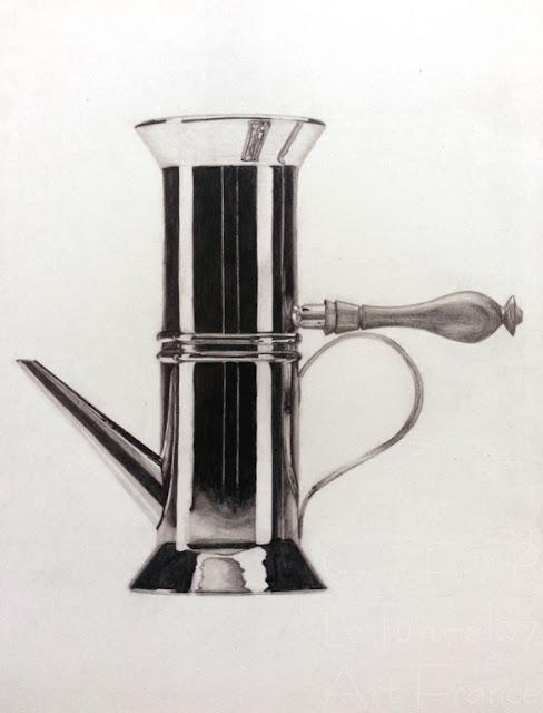 Théo M dessin design d'objet - crayon graphite - Atelier Arts LT 37 cours arts appliqués  Tours  st pierre des corps amboise joué les tours fondettes villandry tours nord