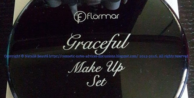 GRACEFUL MAKE UP SET by FLORMAR NATALIE BEAUTE REVIEW AND PHOTOS