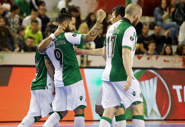 O Futsal Sporting se classificou novamente para a final da Taça da Liga ao  golear a equipe do Modicus na semifinal do torneio por 5-2. 677541d611e32