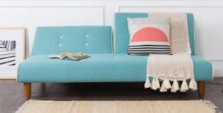sofa bed minimalis ruang tamu sempit