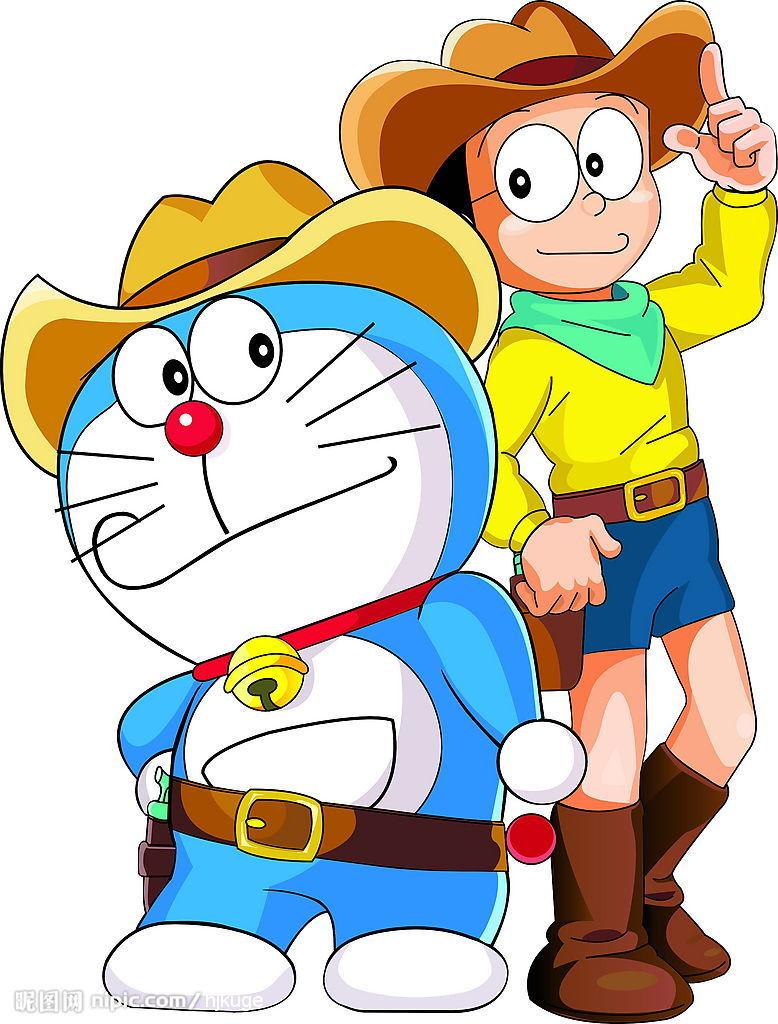 2D Doraemon Wallpaper