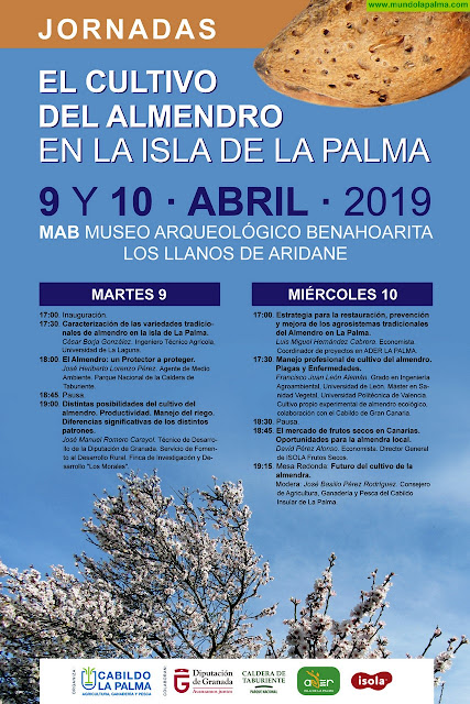 El Cabildo organiza unas jornadas sobre el cultivo del almendro