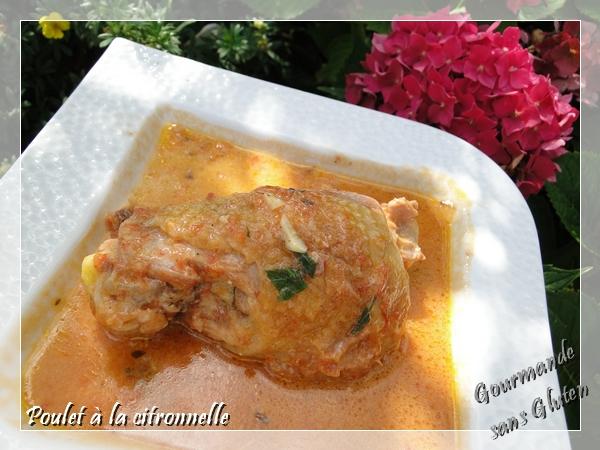 recette de Poulet à la citronnelle