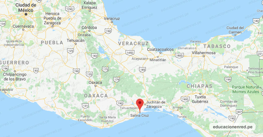 Temblor en México de Magnitud 4.1 (Hoy Viernes 04 Octubre 2019) Sismo - Epicentro - Salina Cruz - Oaxaca - OAX. - SSN - www.ssn.unam.mx