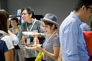 how to conduct meetings - buffet lunch - Singapore event company