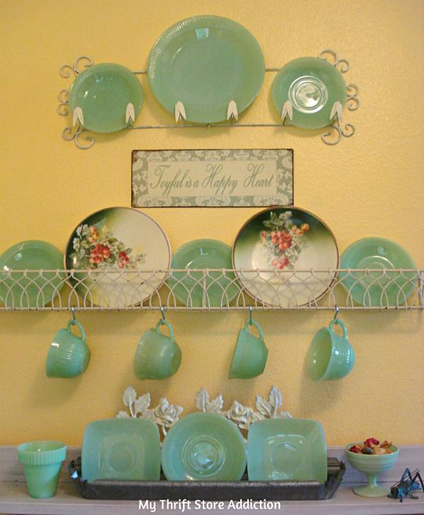 vintage jadeite collection