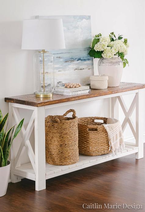stylish wicker storage baskets