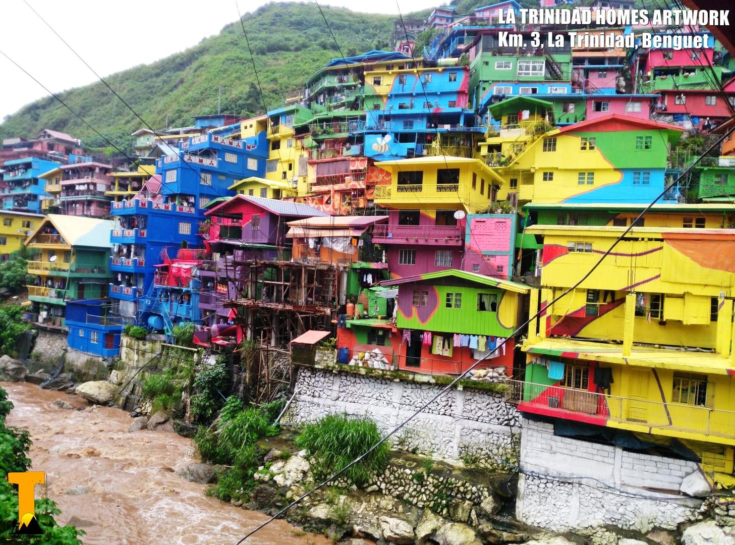 Trekero la trinidad homes artwork a colorful symbol of for Trinidad houses