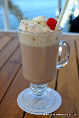 Boardwalk's Hot Almond Chocolate