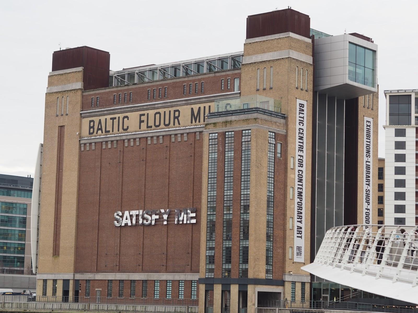 Weekend in Tynemouth, Newcastle, Baltic Flour Mill, Gateshead