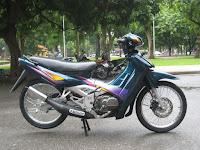 Perjalanan Suzuki Satria 2 Tak