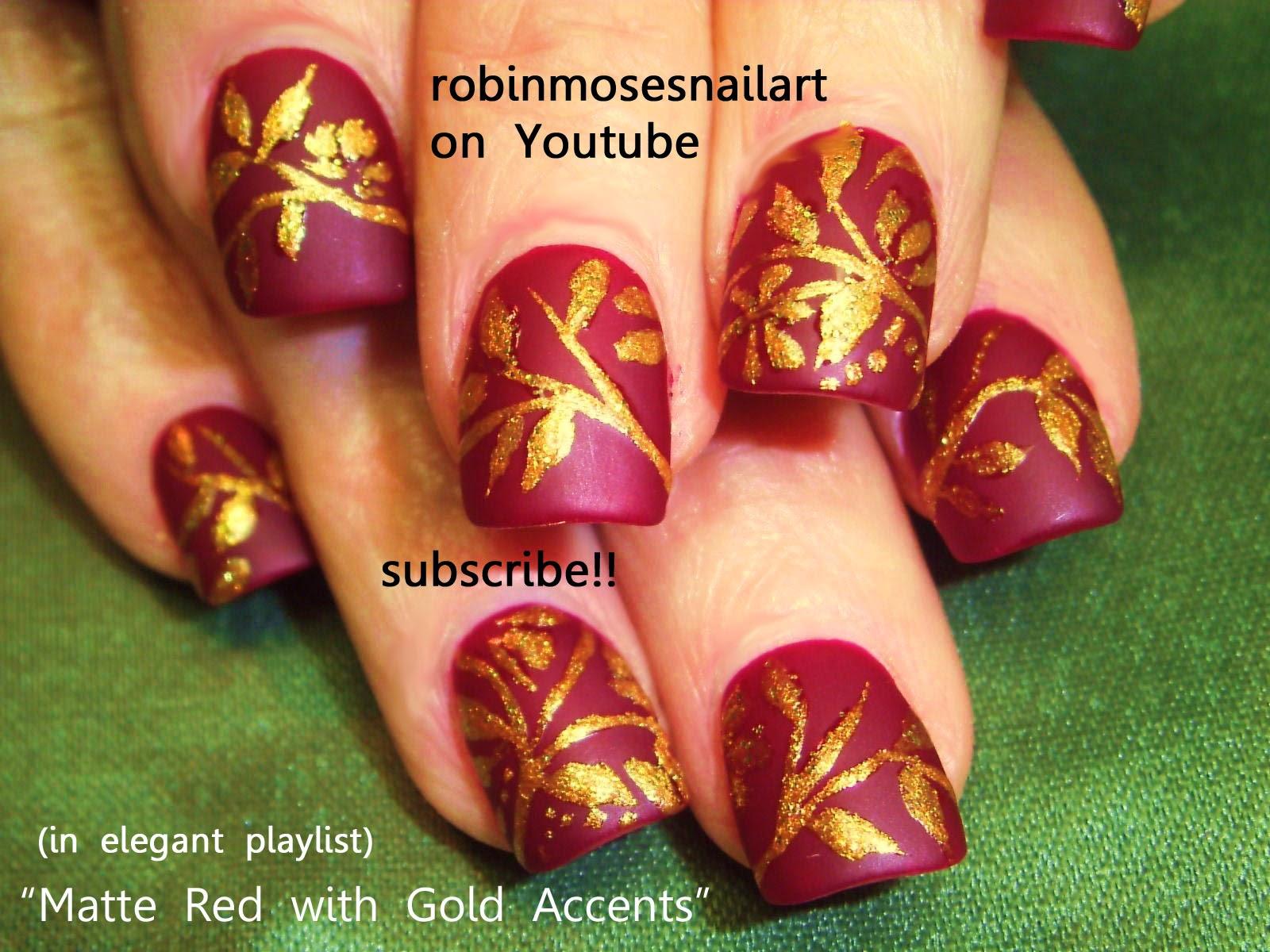 Nail Art by Robin Moses: henna, henna nail art, smiling strawberry ...