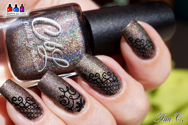 llarowe, Shroom with a View, taupe holográfico, moyou frenchy 14