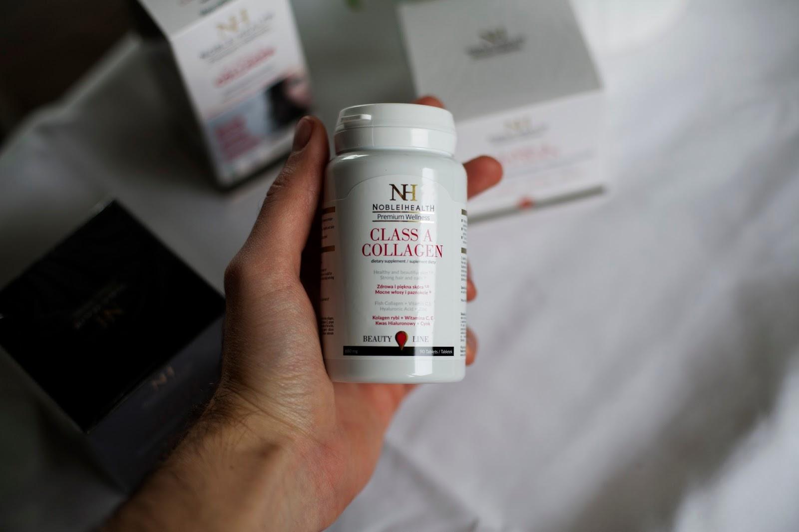 Recenzja noble health class a collagen daro menswear for Kolagen w tabletkach