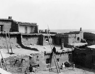 A Corner of Zuni Edward S Curtis