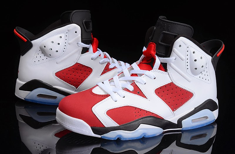 "0eb6d6f7ae8569 Jordan Brand is kicking off the unofficial first weekend of summer right by  bringing back the original ""Carmine"" Air Jordan 6 colorway last 2 weeks"